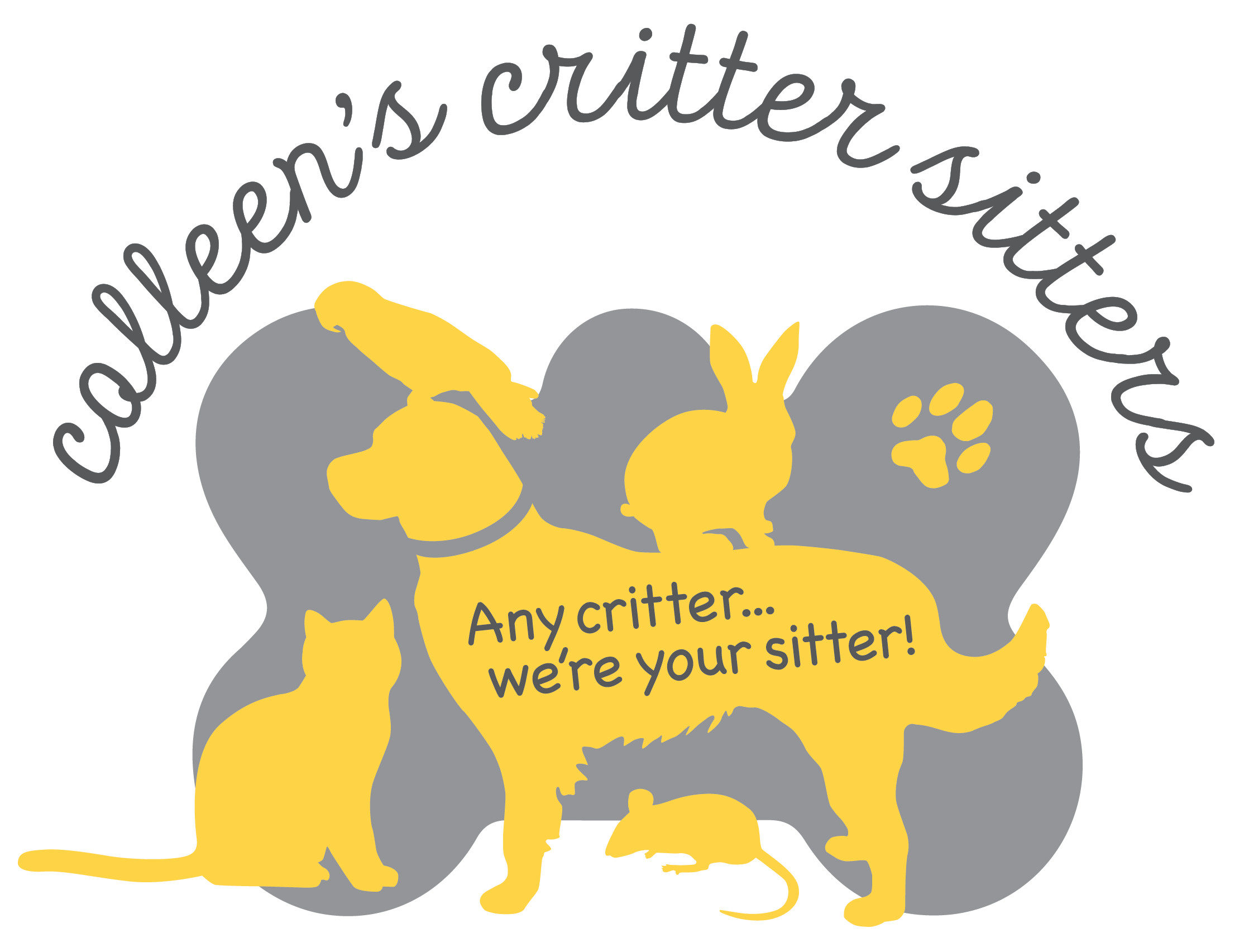 Colleen's Critter Sitters Logo
